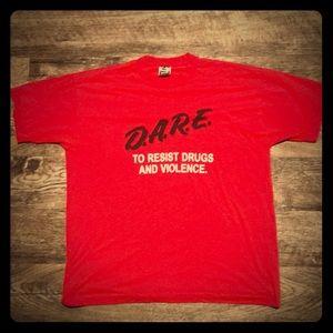 Fruit of the Loom Shirts - 🔥Original Vintage D.A.R.E. Shirt